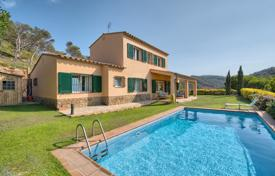 5 bedroom houses for sale in Begur. Two-storey villa with a pool, a garden and a sea view, Begur, Spain