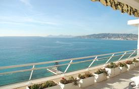 Apartments with pools for sale in Antibes. Four-level penthouse with a swimming pool in a new residence on the beach, Antibes, France