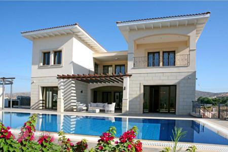 Luxury residential for sale in Limassol. Villa with sea and mountain views, 250 m from the beach, Kalogiri. Buying of object allows you to get the citizenship and passport of Cyprus