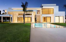 Coastal property for sale in Marbella. Snow-white new villa 200 meters from the beach, Marbella, Costa del Sol, Spain