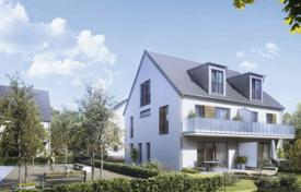 Off-plan residential for sale in Bavaria. Bright cottage with two terraces, a balcony and a garden, Munich, Bavaria, Germany
