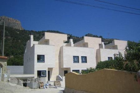 Coastal townhouses for sale in Calpe. Terraced house – Calpe, Valencia, Spain
