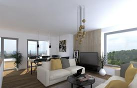 New homes for sale in Prague. New luminous apartment with a balcony and a parking space in a green area, near a park, Prague 8, Czech Republic