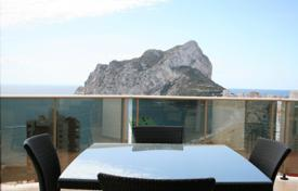 Cheap 1 bedroom apartments for sale in Calpe. New apartment of 1 and 2 bedrooms with panoramic views over the Rock of Ifach and the sea in Calpe