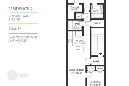 Cheap 2 bedroom apartments for sale in North America. Condo – Midtown Manhattan, Manhattan, New York City,  State of New York,   USA