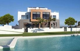 Cheap residential for sale in Algorfa. Semi-detached house of 2 bedrooms with garden and solarium in La Finca, Algorfa