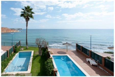 3 bedroom houses for sale in Europe. Sea view villa with solarium, terrace and swimming pool, near the beach, in Alicante, Spain