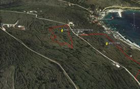 Coastal development land for sale in Zakinthos. Land of 11,150 m² in Volimes Zakynthos, 220 meters from the beach with fantastic views of the port of Agios Nikolaos is for sale