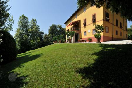 Luxury houses for sale in Lucca. Recently restored villa of XVIII century with well-maintained garden in Lucca, Tuscany, Italy