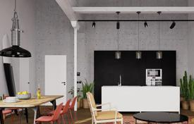 1 bedroom apartments for sale in Barcelona. One-bedroom loft with a terrace in a renovated building, Gracia area, Barcelona, Spain