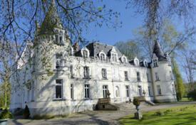 Luxury chateaux for sale in France. Historic castle with a dovecote, stables, a kennel and a swimming pool, 65 km south of Paris, Ile-de-France