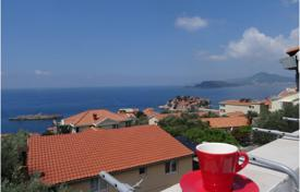 Property for sale in Sveti Stefan. Apartment with beautiful view on Sveti Stefan and the sea