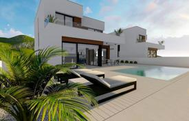 Modern villa with a garden, a backyard, a swimming pool, a relaxation area, a terrace and a garage, Benidorm, Spain for 550,000 €