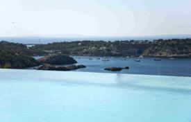 Luxury 3 bedroom houses for sale in Ibiza. Contemporary newly built villa with sea views