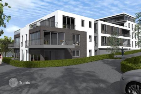 New homes for sale in Dortmund. Modern apartment in a new residential complex next to a lake Phoenix
