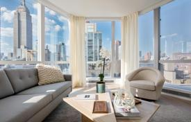 Property for sale in New York. Studio apartment in a new residential complex designed by the world-famous architect in the area of Nomad, New York