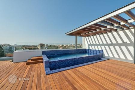 Apartments with pools for sale in Limassol. Luxury penthouse with pool on the roof, in the Potamos Germasogeia, Cyprus