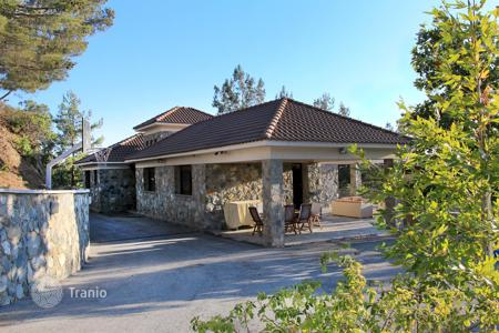 6 bedroom houses for sale in Cyprus. Built in 2009 Land approximately 5,500 m², buildings approximately 350 m² (main building one level), 5 bedrooms