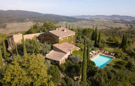 Historic stone villa with a pool in Casole d'Elsa, Tuscany, Italy for 2,950,000 €
