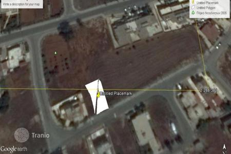 Land for sale in Famagusta. Plot for Sale Near Paralimni's General Hospital
