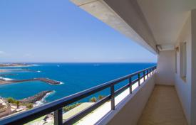 Apartments with pools for sale in Tenerife. Penthouse with stunning views of the sea and the mountains in Tenerife