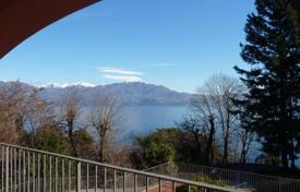 3 bedroom apartments by the sea for sale in Italy. High rental potential! Terraced apartment overlooking Lake Maggiore, in the park area with developed infrastructure, Oggebbio, Italy