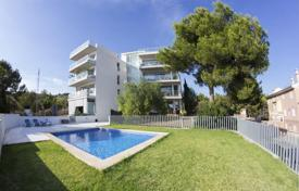 Apartments for sale in Costa d'en Blanes. Apartment with a terrace, a garden and parking spaces in a residence with a pool, Costa d'en Blanes, Calvia, Spain