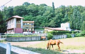 Luxury houses for sale in Miasino. Large villa with a hotel block, a horse club and a huge plot, near the lake, Miasino, Piedmont, Italy
