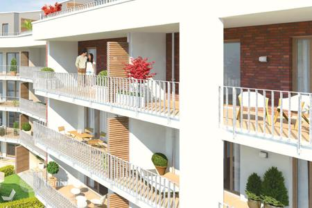 2 bedroom apartments for sale in Hessen. Three room apartment with a balcony in Wiesbaden
