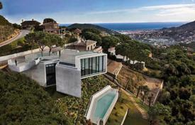 4 bedroom houses for sale in Cabrils. Spectacular design villa in Maresme