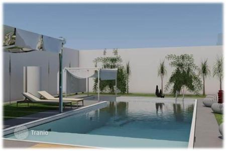 Off-plan residential for sale in Italy. For sale is a brand new villa with pool in the historical part of Ostuni