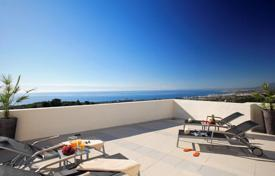 Penthouses for sale in Marbella. Elite penthouse with sea views in a residence with a swimming pool, a gym, a garden and a parking, close to the beach, Marbella, Spain