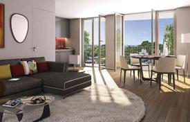 New homes for sale in France. Luxury apartment with a balcony, in a new residence, in a popular area of Paris, Ile-de-France