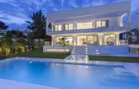Coastal property for sale in Marbella. New villa 700 meters away from the beach in Marbella, Andalusia, Spain