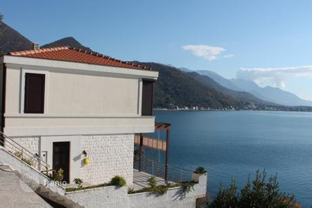 3 bedroom houses by the sea for sale in Herceg-Novi. Brand new sea-oriented house in Kamenari/Herceg Novi Municipality. Breathtaking panoramic sea view and only 30m away from the shore