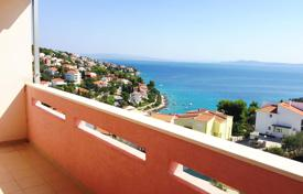 Cheap property for sale in Žedno. Apartment with panoramic sea views on the island Ciovo, Croatia