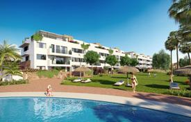 Apartments for sale in Mijas. New apartment with a parking, a terrace and a sea view in a residential complex with a garden and swimming pools, Mijas, Spain