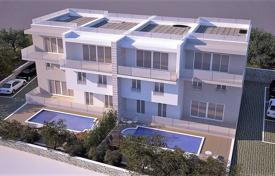 Apartments with pools by the sea for sale in Croatia. Spacious apartment with a swimming pool, a parking, a terrace and a sea view, Ciovo, Croatia