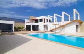 Luxury 4 bedroom houses for sale in Canary Islands. Amazing modern villa with pool in a prestigious area of Tenerife