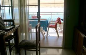 Apartments for sale in Tarragona. Penthouse with a balcony and a terrace on the first line from the sea, Cambrils, Spain