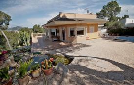 Luxury 5 bedroom houses for sale in Balearic Islands. Spacious villa with a private garden, a swimming pool, a parking, a terrace with panoramic sea views, Santa Ponsa, Spain