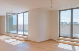 3 bedroom apartments for sale in Germany. Five-room penthouse with 2 terraces and views of the Frankfurt Gate, district Friedrichshain, Berlin