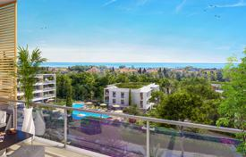 Apartments for sale in Villeneuve-Loubet. New apartments with balconies and picturesque views in a green residence with a pool and a solarium close to the beaches, Villeneuve-Loubet