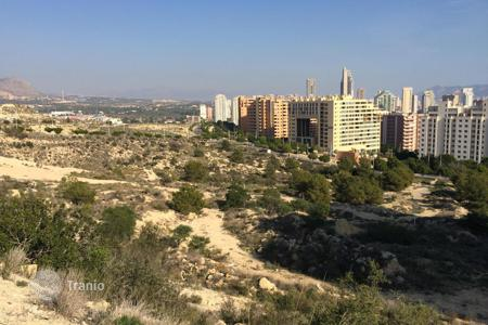 Development land for sale in Benidorm. The big land plot in under construction of the multi-storey building around La Cal, Benidorm, Spain