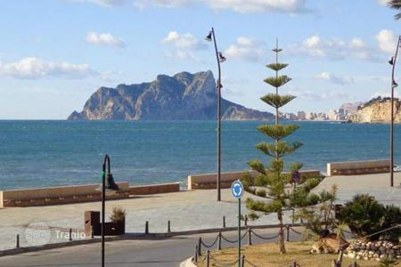 3 bedroom houses by the sea for sale in Costa Blanca. 3 bedroom apartment with terrace with panoramic sea views 100 metres to the sea in Moraira