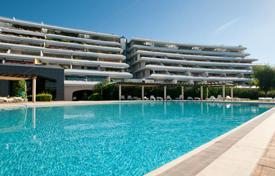 Coastal property for sale in Ibiza. Luxury apartment with port and sea views