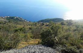 Coastal development land for sale in Split-Dalmatia County. Large plot of land with all infrastructure and a sea view, Omis, Croatia