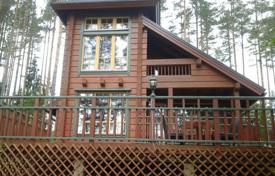 Residential for sale in Finland. Cottage with a terrace and a sauna, on a plot with pinewood and a private beach, 50 metres from the lake, South Savo, Finland