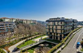 Luxury apartments overlooking the Bosphorus in the center of Istanbul with outdoor and indoor pools, physical security, underground parking for $1,848,000