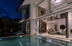 Property for sale in Indonesia. Modern two-storey villa with a private plot, a swimming pool and a garage, close to the beach, Beraban, Bali